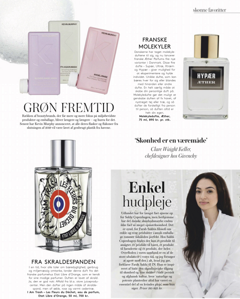 Modemagasinet IN Sakhi Copenhagen Feature