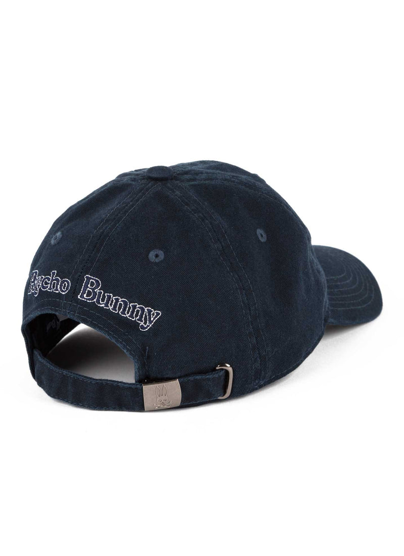 Psycho Bunny Sunbleached Cap Navy