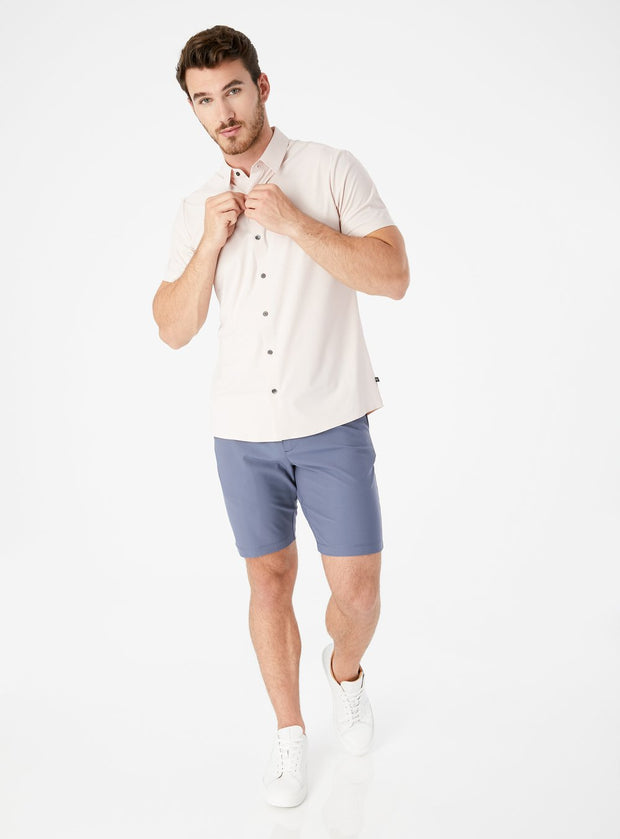 "Infinity 9"" Chino Short Stone Blue"