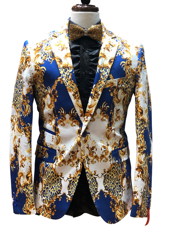 "Inserch blazer ""The King"" royal blue"