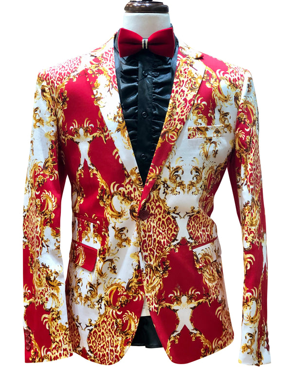 "Inserch Blazer ""The King"" Red"
