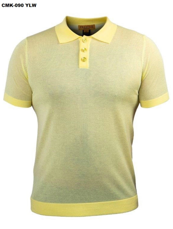 Prestige Luxury Polo Yellow 090