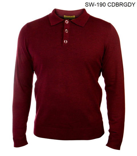 Prestige Polo Burgundy