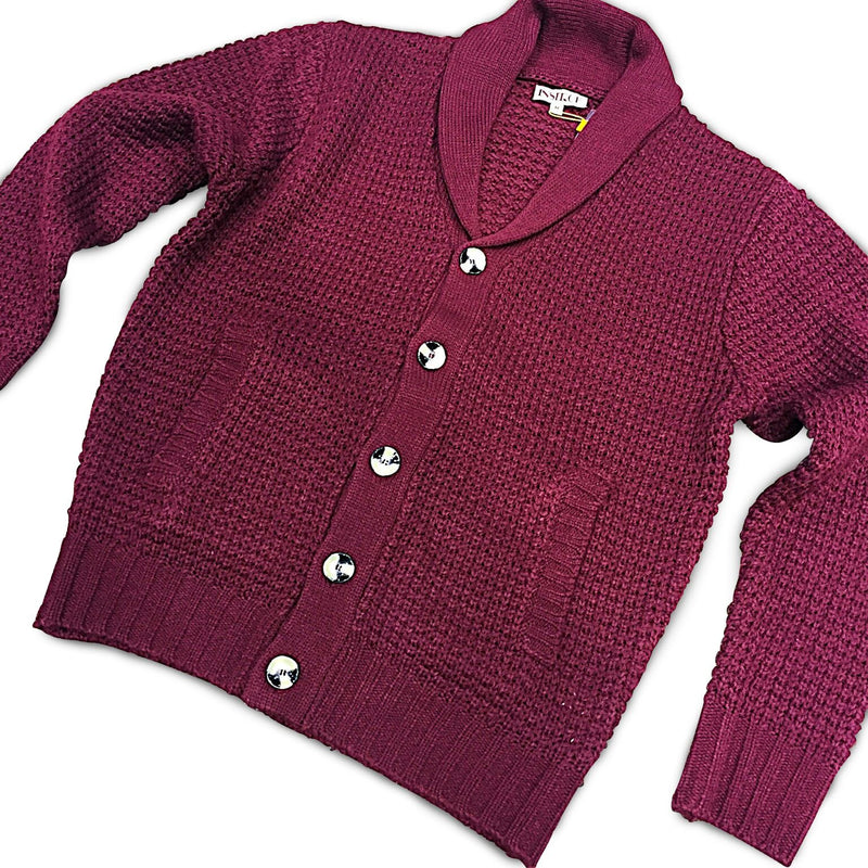 Cardigan Sweater Burgundy