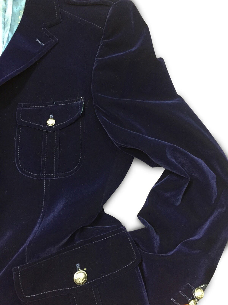 Inserch Military Blazer Navy