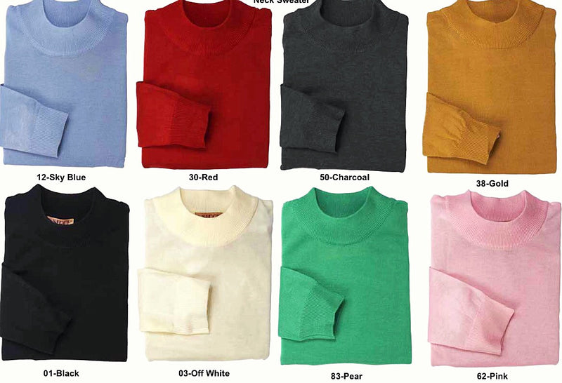 Inserch Mock Sweater Collection