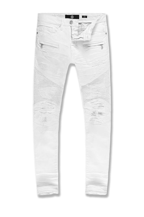 "Jordan Craig ""Flash"" Jean Sean Fit (White)"