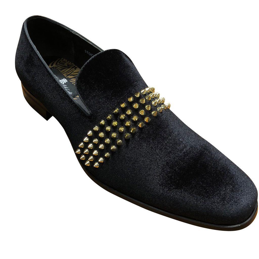 Mens Loafer blk/gld6787