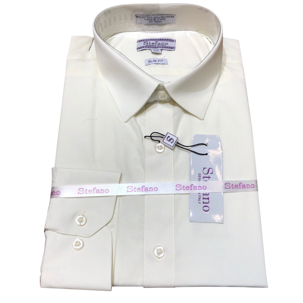 STEFANO SLIM FIT CREAM
