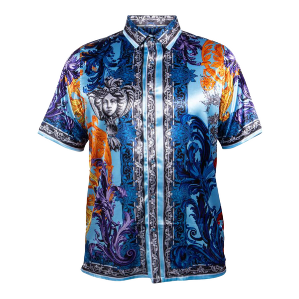 Prestige Luxury Shirt (Blue) 154