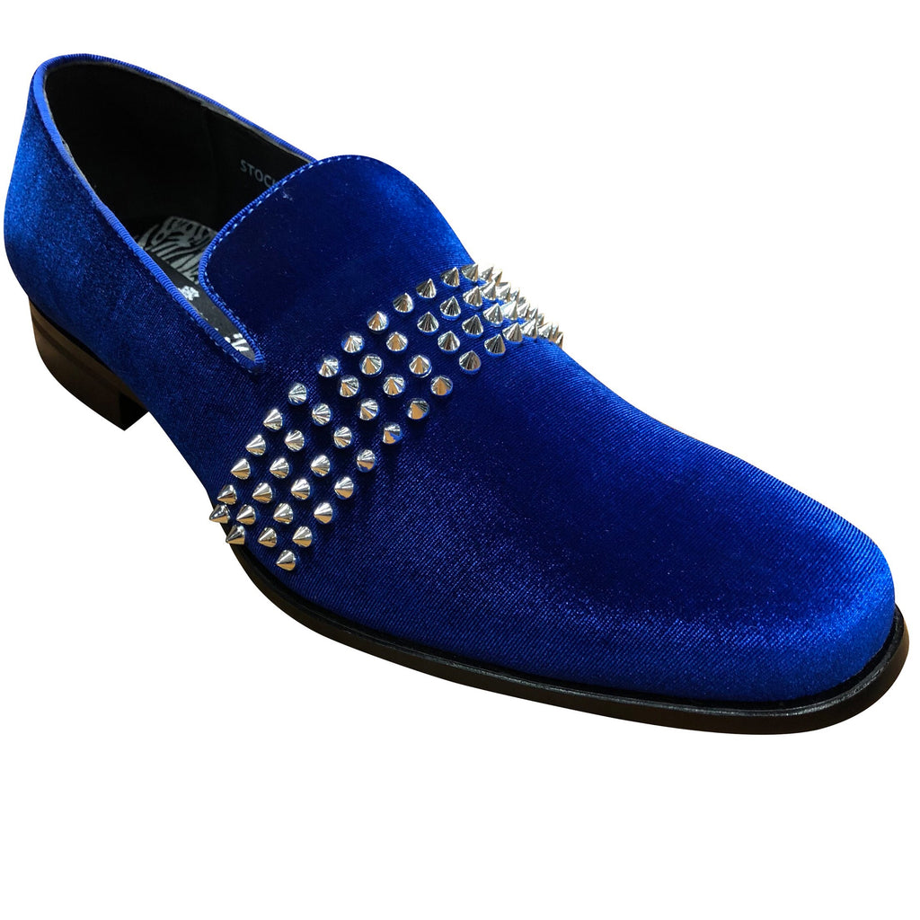 Mens Loafer blue/slv6787
