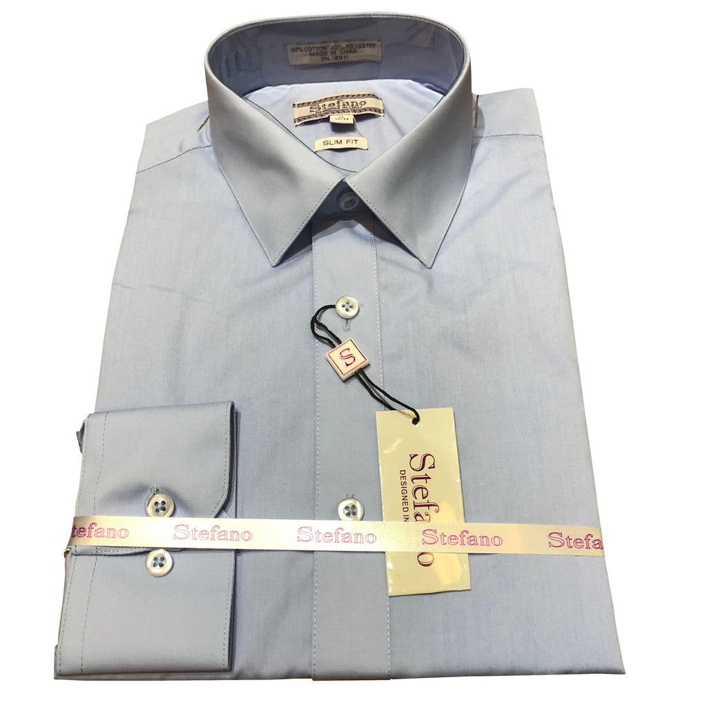 STEFANO SLIM FIT SKY BLUE
