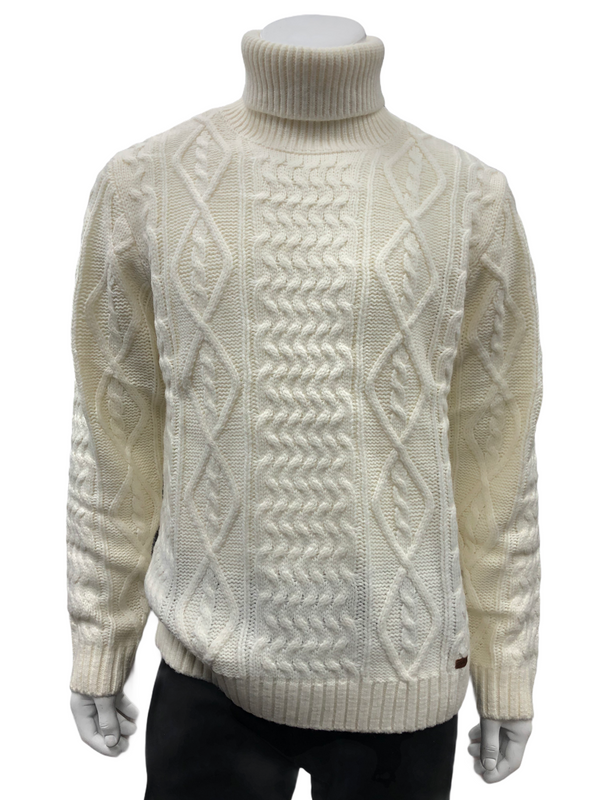 Prestige Turtleneck (Cream)