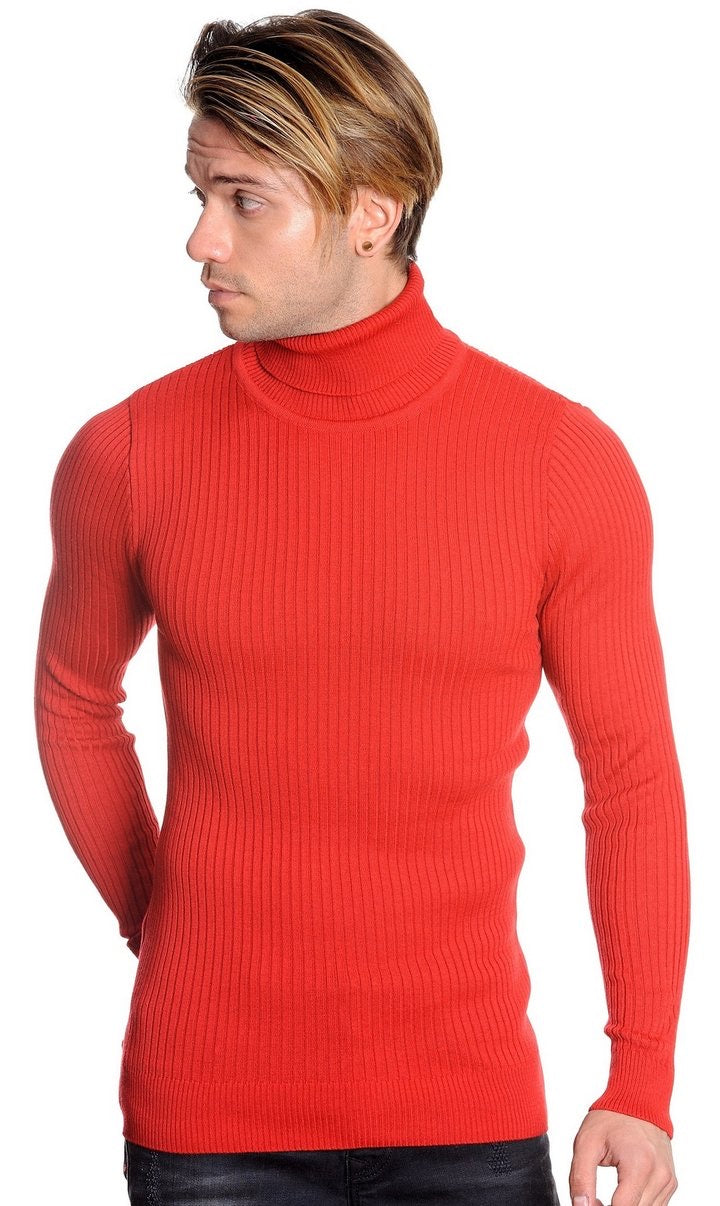 LCR Turtleneck Slim Red