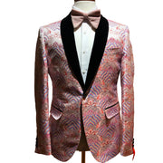 Inserch Blazer Pink/Royal
