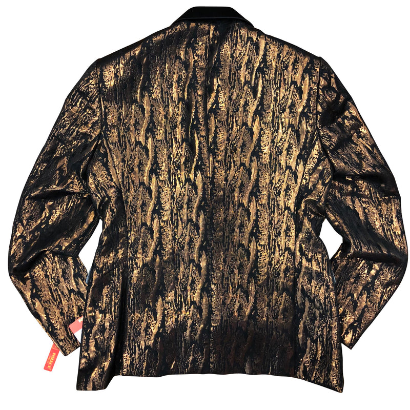 INSERCH BLAZER BROWN/BLACK SHINE