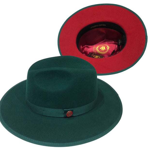 Bruno Capelo Hat Monarch Green/Red