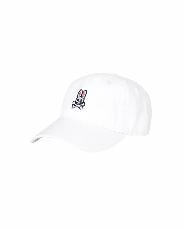 Psycho Bunny Sunbleached Cap White