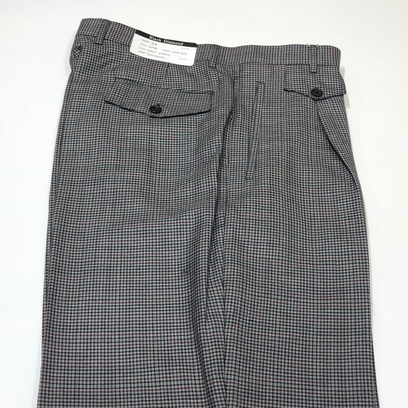 Black Diamond Slacks Semi Wide-WP99