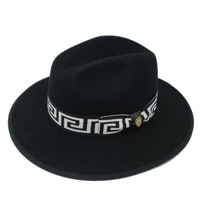 Bruno Capelo Hat Wesley Black/White