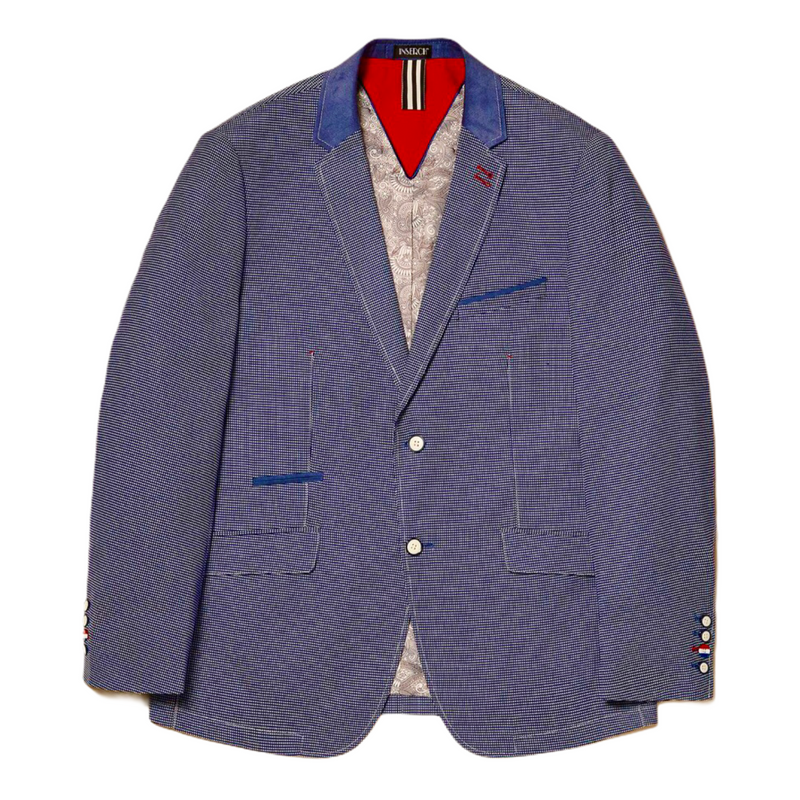 Inserch Cool Blue Blazer (Blue/White)