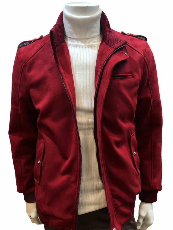 Insomnia Bomber Jacket (Red)