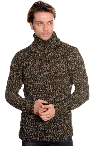 LCR TurtleNeck Olive/Wheat