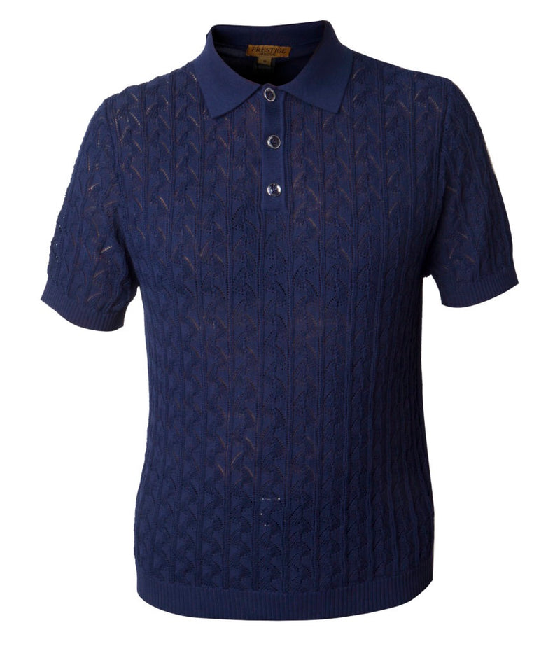 Prestige Polo Knit' Navy959