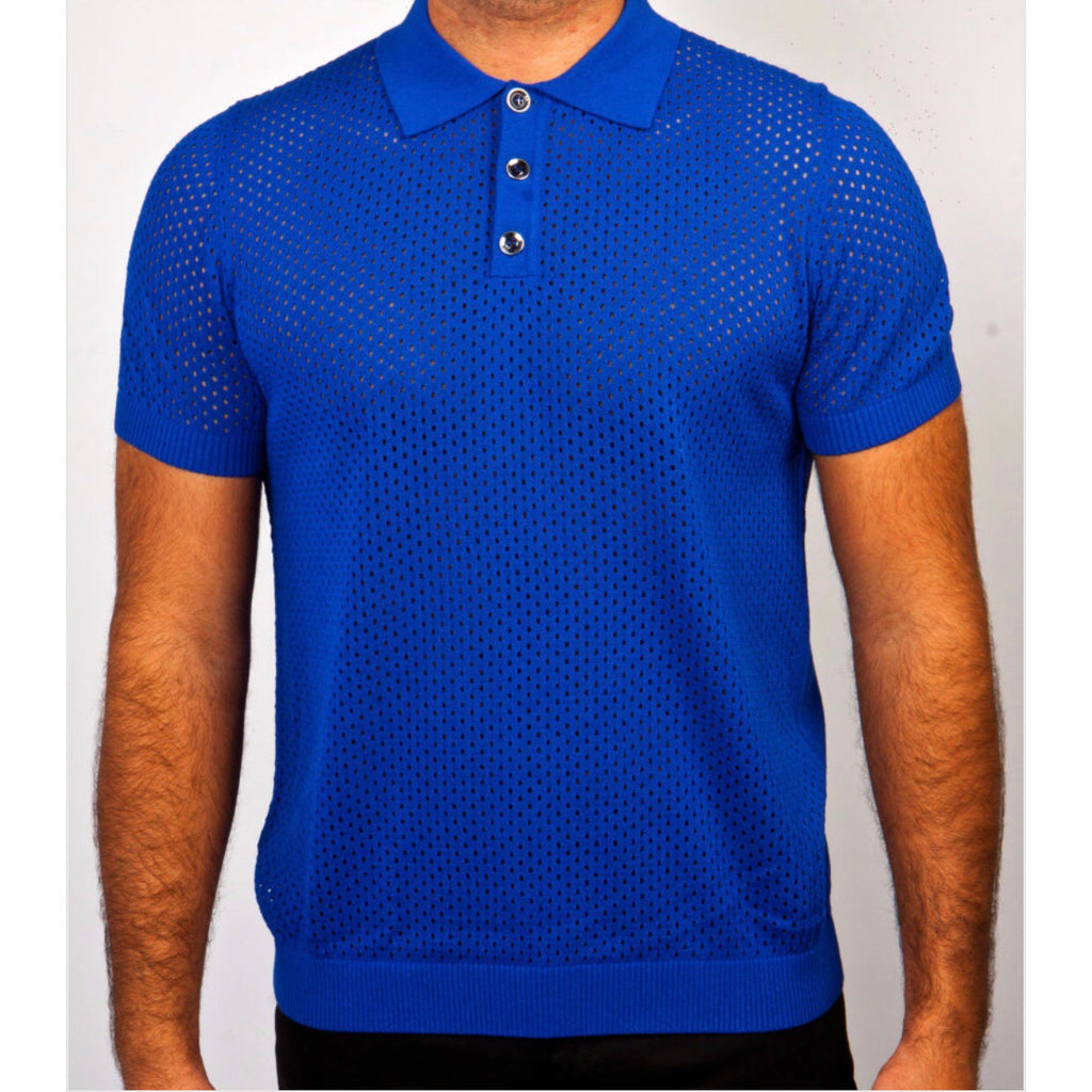 Prestige Polo Knit' Royal911