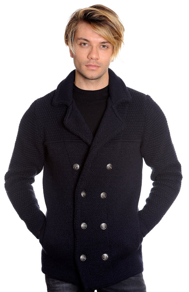 LCR Sweater Jacket Navy