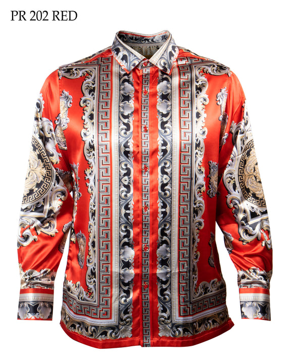 Prestige Shirt Print 202 Red