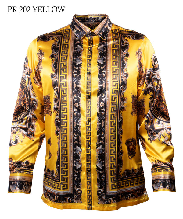 Prestige Shirt Print 202 Yellow