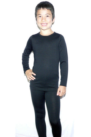 Kid's Merino in Black