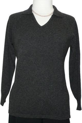 Women's Cashmere Johnny Collar