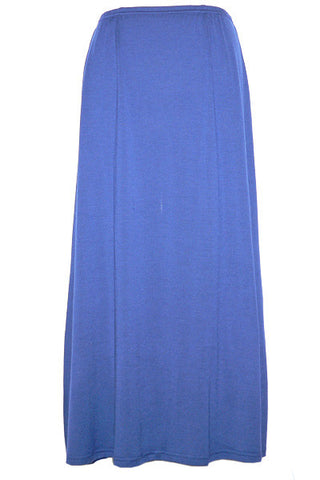Women's Merino Skirt in Navy Blue