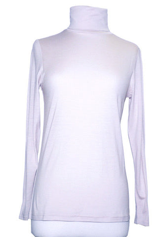 Women's Merino Turtleneck in Natural