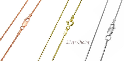 925 Sterling Silver Chain - Snake Chains – Arthur's Jewelry