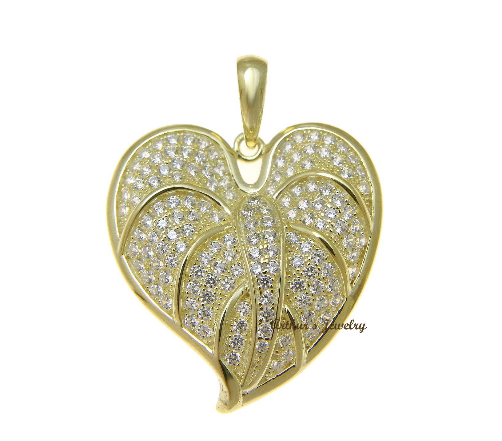 pc connector silver flower charm buttercup sterling large plated pendant vermeil gold