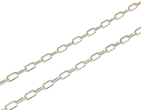 "3MM ITALIAN STERLING SILVER 925 ANCHOR LINK CHAIN NECKLACE 16"" 18"" 20"" 22"" 24"" 30"