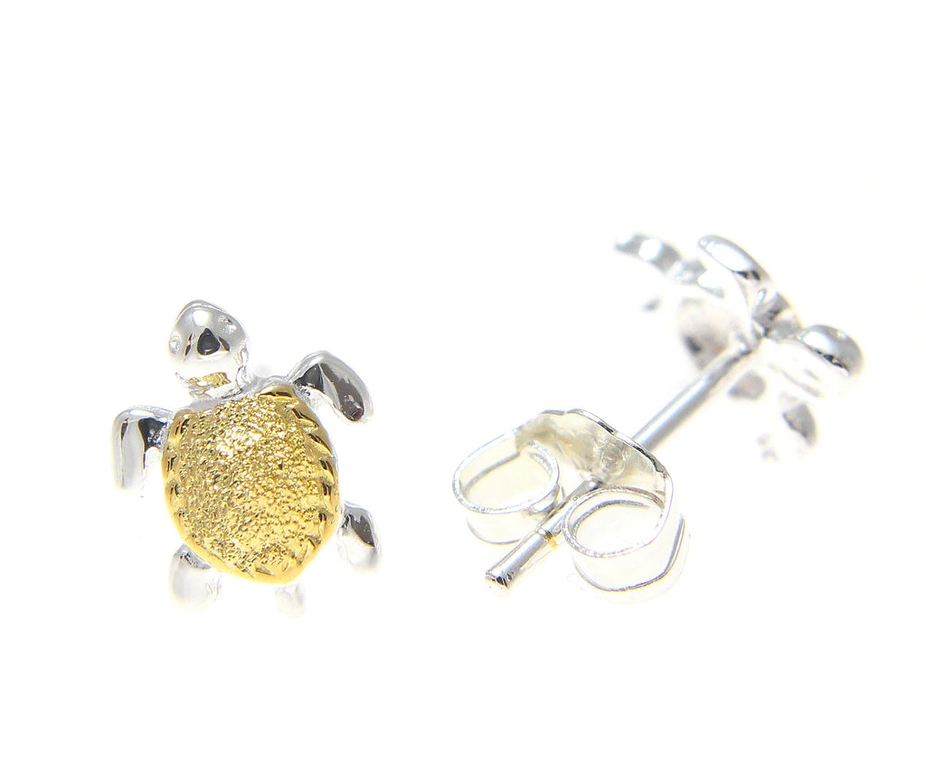 earrings stud rosegoldearrings the org sea products turtle turtlepak