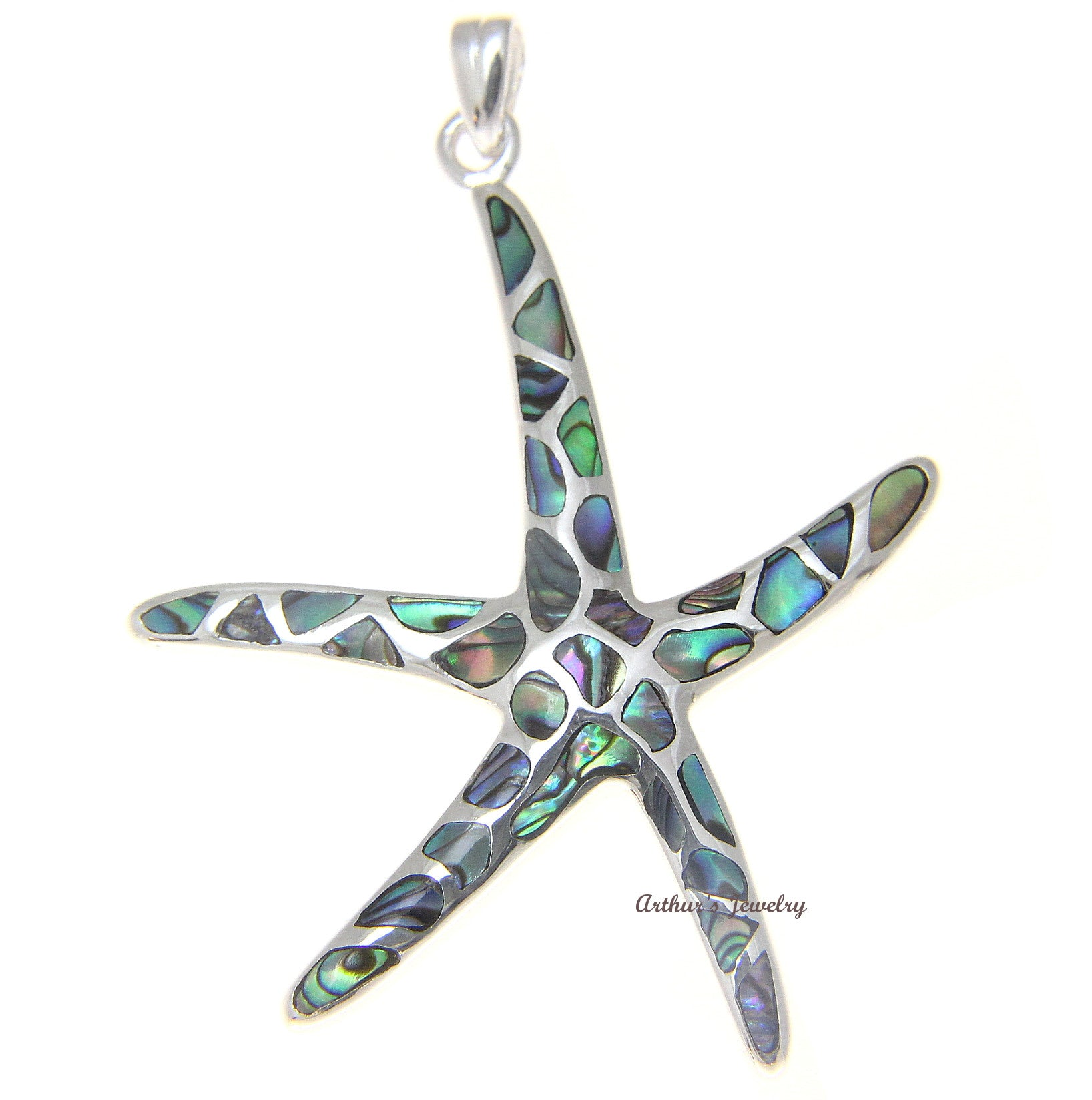 silver cross adjustable colour on inlaid asp metal pendant paua crucifix necklace p shell