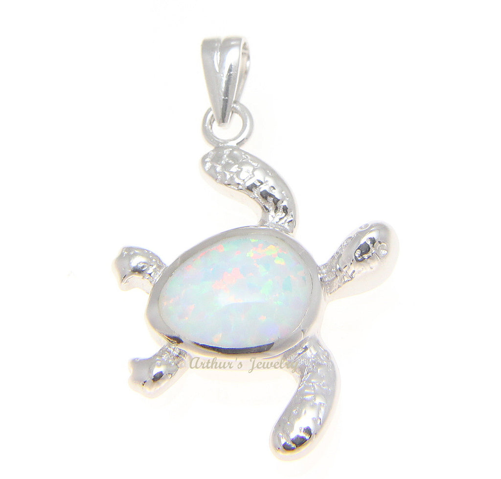 Inlay white opal hawaiian swimming honu turtle pendant sterling inlay white opal hawaiian swimming honu turtle pendant sterling silver 925 aloadofball Gallery