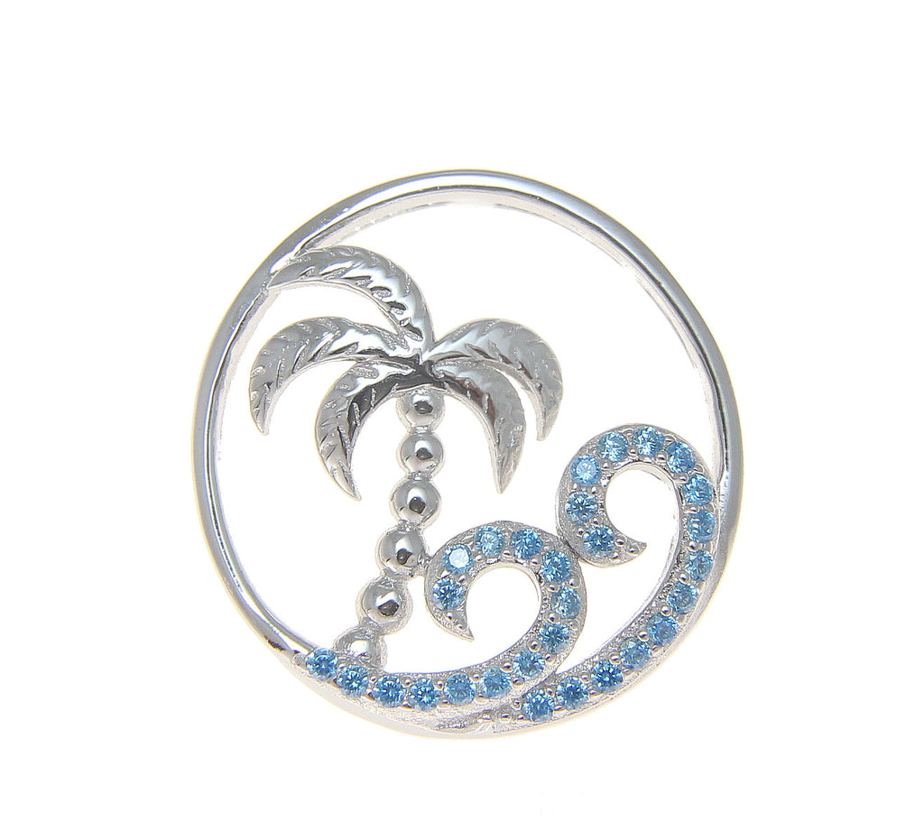 pin necklace waves and pendants pendant ocean wave