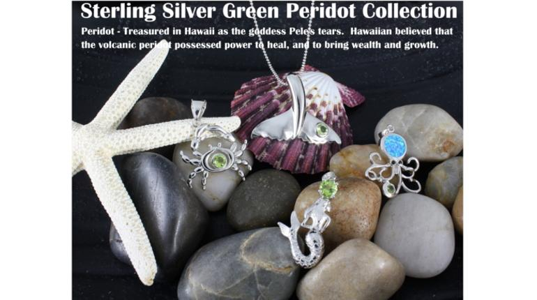 Hawaiian Peridot Jewelry