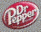 Amazing NEW LOOK Dr. Pepper FOOD Montage Limited w/COA , Dr Pepper - Dr Pepper, Final Score Products  - 1