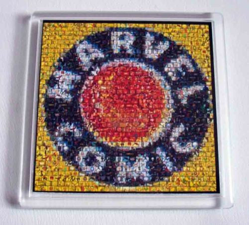 Marvel Comics 1939 mosaic logo Coaster 4 X 4 inches