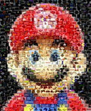 Amazing Mario Nintendo Video Game Montage super print , Video Game Memorabilia - n/a, Final Score Products  - 1