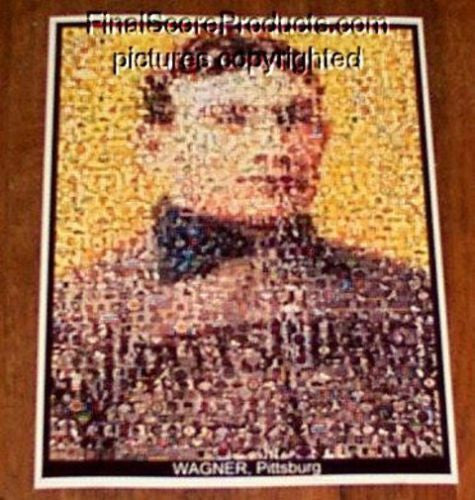 Amazing Honus Wagner card Montage 1 of only 25 EVER!! , Baseball-MLB - n/a, Final Score Products  - 1