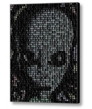 Framed Grey Alien Face Moon Phase Mosaic 9X11 inLimited Edition Art Print w/COA , Aliens, AVP - n/a, Final Score Products  - 1