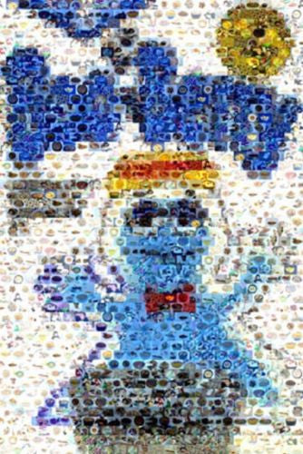 Amazing Boo Berry Cereal Pop Art Montage Only 25 made